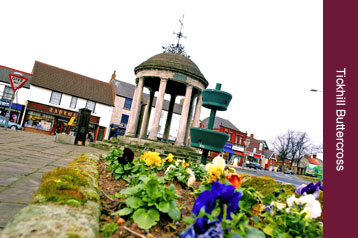 Pubs and Restaurants - Tickhill, Doncaster, Rotherham, Sheffield - Tickhill ButterCross