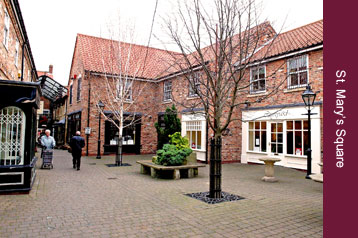 Pubs and Restaurants - Tickhill, Doncaster, Rotherham, Sheffield - Tickhill St Mary's Square